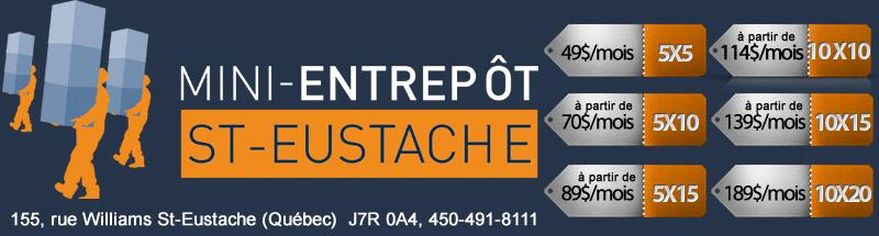 Mini entrepôt Saint-Eustache
