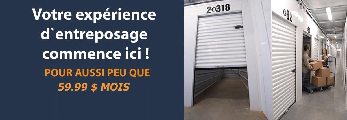 Mini entrepot Saint-Eustache